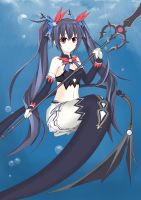 Noire Mermaid by MagatsuReinami