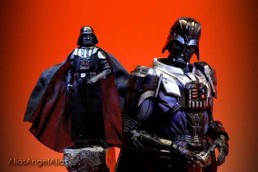 Star Wars Play Arts Kai Darth Vader 04 by aliasangel2005
