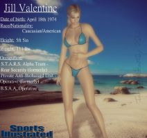 S.I Swimsuit Edition-Jill Valentine by IamRinoaHeartilly