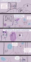 Cadence the foalsitter by HareTrinity