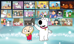 Stewie and Brian Wallpaper by Mighty355