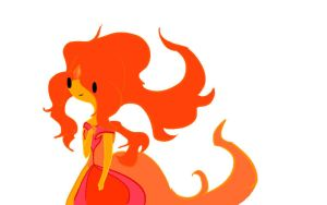 Flame Princess by fionnceline
