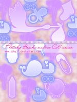 Baby Shower Photoshop Brushes by Coby17