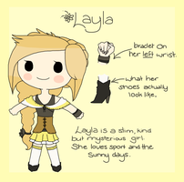 ~ Layla Reference Sheet ~ by Linthium