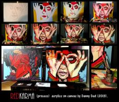 RED KARMA (process). by DANNY-DED