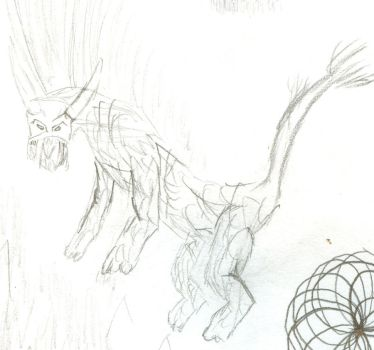 Some wierd fire dog thig by Trench-war