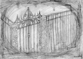 The Asylum Gate by ConfusedCupcake