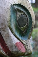 Haida Totem carving by Stock-by-Kai