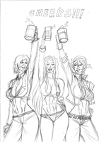 Jade_and_Friends_Cheers by Frogwalker