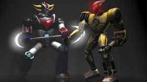 Grendizer fight by 3DSud
