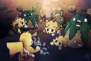 Infamous Pokemon Rumble by ZestyDoesThings