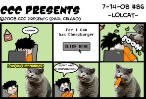 CCC Presents - 86- LOLCAT by chelano