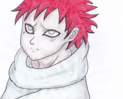 Gaara as a child by Ava-night