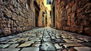 street of Trogir by 89Brute
