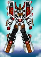 White Tigerzord (Senatai Guardian) by blueliberty