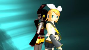 Two Sides - Rin Kagamine by vocaloidandlegolover