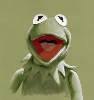 Kermit the Frog by AllisonSohn
