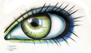 Eye sketch by davepinsker