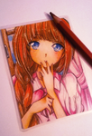 ACEO: Hecateslight 1/2 by Fukune