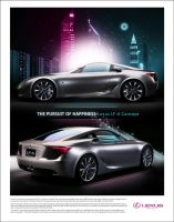 Lexus Poster Ad by Picasso007