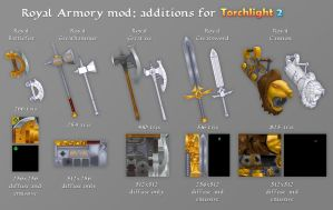 Royal Armory additions for TL2 by LaithArkham