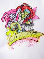 Zombie Dancehall Kru by MsRaggaMuffin