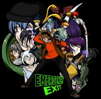 Emergency Exit Cast by eecomics