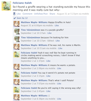 Hetalia Facebook: Giraffes in Hats by gilxoz-epicness