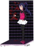 Secret Panda dec 2012 by grangerpixel
