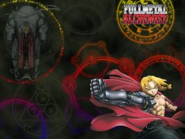 Full Metal Alchemist by bluesteff