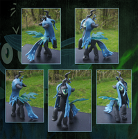 My Little Pony Queen Chrysalis Custom by kaizerin