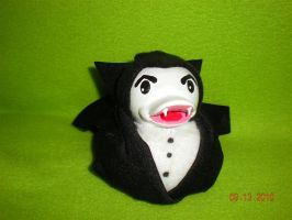 Classic Dracula Rubber Duck by Oriana-X-Myst