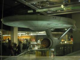 Enterprise from looking port bow by ENT2PRI9SE