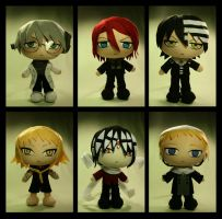 Soul Eater Chibis by pheleon