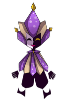 comission-Dimentio by Invaderdaniela