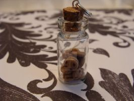Polymer Clay Jar of Cookies by TheCharmBakery