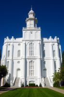 LDS St. George Temple 2 by creativelycharged