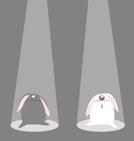 Mokona and Mokona Modoki by Ephourita
