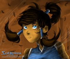 Fast Draw of Korra (edited) by SolKorra