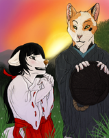 61. Fairy Tale (aka will senpai ever notice her) by ChampagnePain