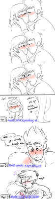 (CONTINUATION) They Kiss by ItsReiiii
