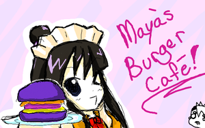 Maya's Burger Cafe by midori-kitty2