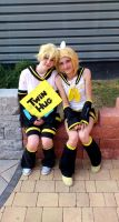 Kagamine twins again :3 by timii95