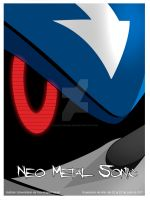 Metal Sonic en exposicion by Kath-the-shadow