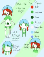 Contest Entry - Maruru the Frog Princess by AskTheRabbitPrince