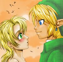 Link and Ilya by NintendosZelda