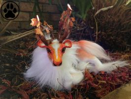 SOLD Aki the autumn caribou soft bodied doll by CreaturesofNat