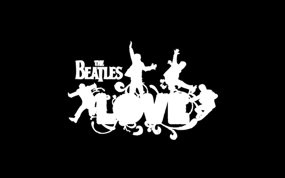 Beatles 'LOVE' Wallpaper by LynchMob10-09