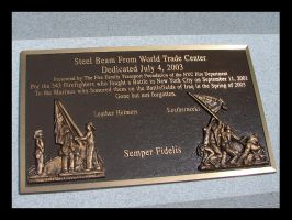 WTC plaque by St0DaD