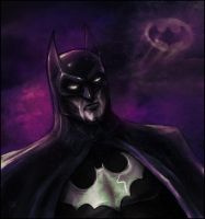 Batman by FAB-dark